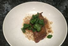 Soy ginger-braised short ribs