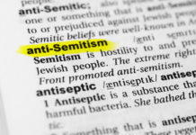 a definition of anti-Semitism in the dictionary