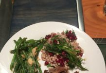 Mediterranean Lamb and Colorful Israeli Couscous