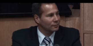 screenshot of Alberto Nisman