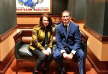 Sherrie Savett and Professor Michael Yudell (