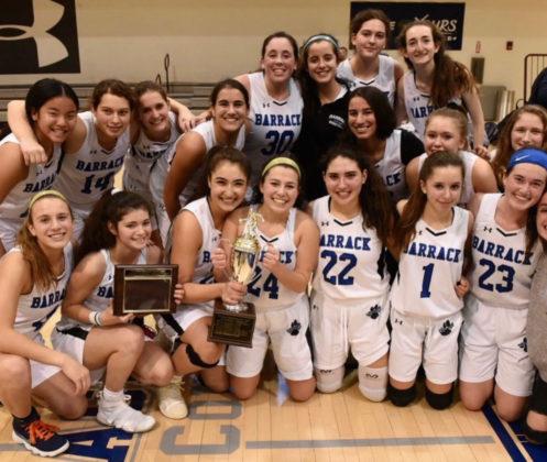 Jack M. Barrack Hebrew Academy's girls basketball team