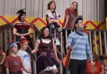 """The Wild West Mikado"" in rehearsals"