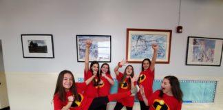 Abrams Hebrew Academy seventh-graders