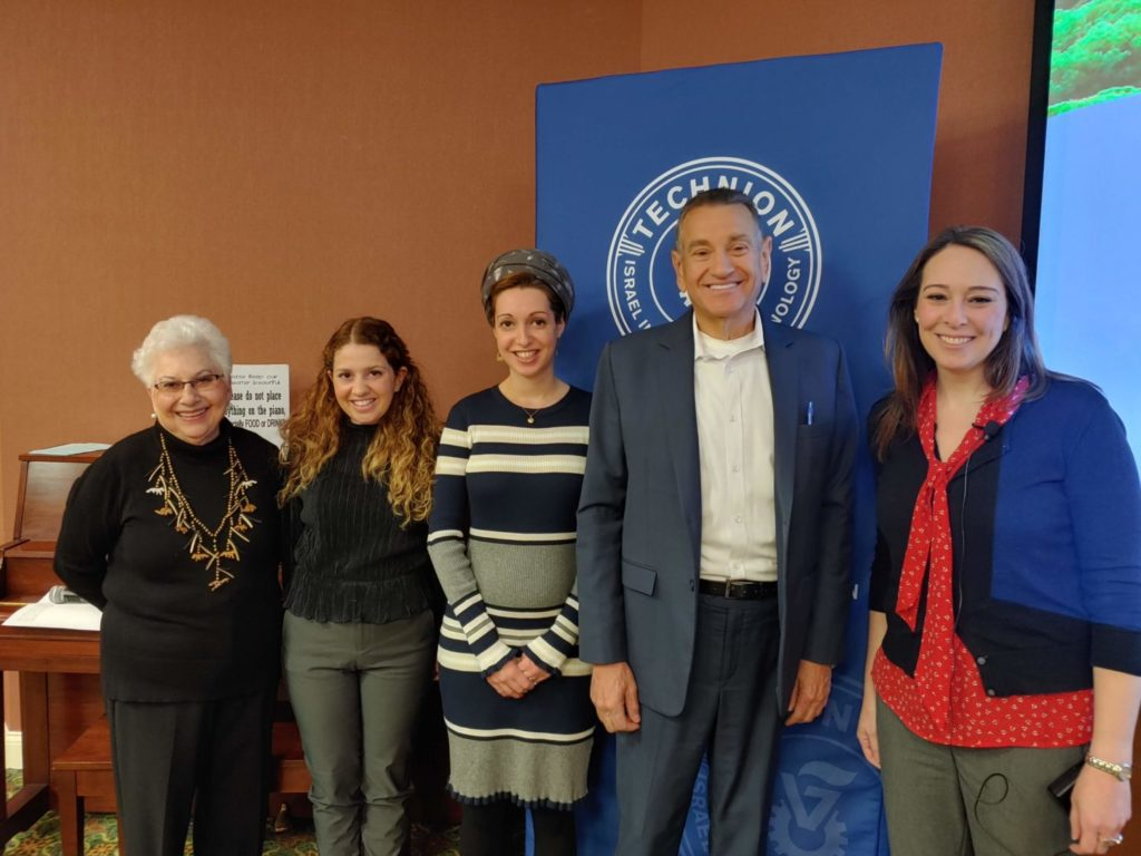 From left: Dolores Tessler, Chen Tubul, Rina Tzipora Ben-El, Steve Berger and Elissa Gillston