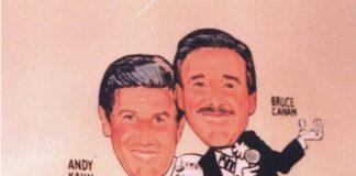 Bruce Cahan and Andy Kahn at Palm
