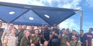 One-time Washington Redskins teammates Adrian Peterson and Josh Norman ran obstacle courses with Israeli soldiers and took Krav Maga lessons while on a visit to Israel.