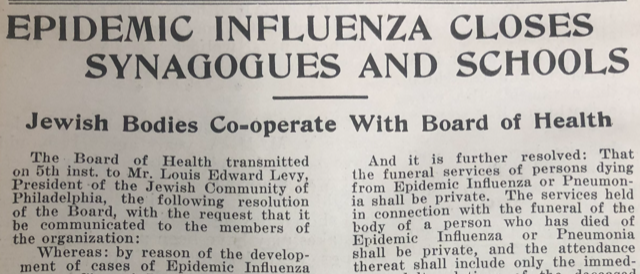 1918 article