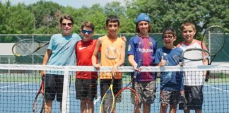 Kids at Camp Young Judaea Sprout Lake in New York