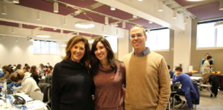 From left: Jewish Federation Board Chair Susanna Lachs Adler with Super Sunday Bala Cynwyd chairs Stacey and Amir Goldman