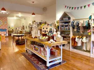 inside Minnow Lane store