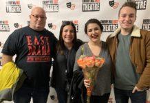 From left: Brett, Amy, Grace and Jack Breslow