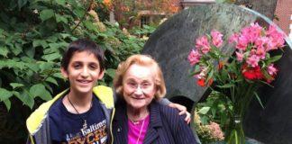 Margit Feldman with Noah Weinstein