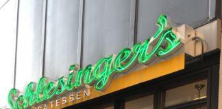 Schlesinger's exterior