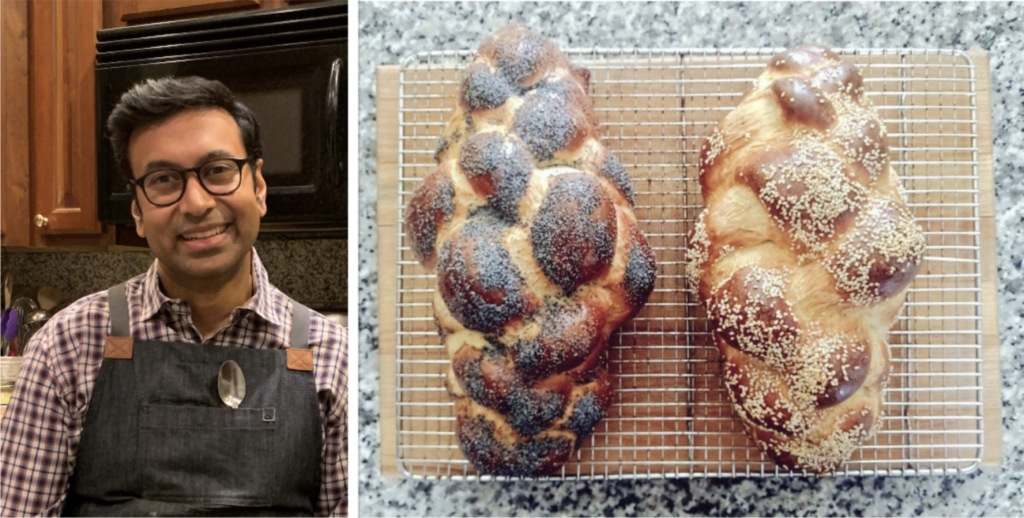Sudeep Agarwala is a yeast scientist and challah enthusiast whose guidance for home bakers has taken off online.