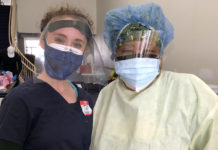 From left: Medical student Tal Lee and nurse Michele Morton are working with the Black Doctors COVID-19 Consortium to provide free coronavirus testing.