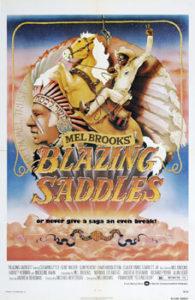Blazing saddles movie poster