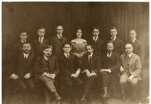 The Gratz College graduating class of 1917