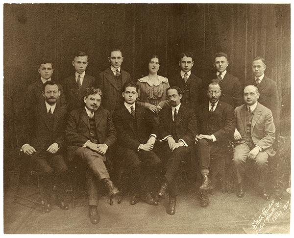 The Gratz College graduating class of 1917