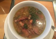Smoked Turkey Bean and Vegetable Soup