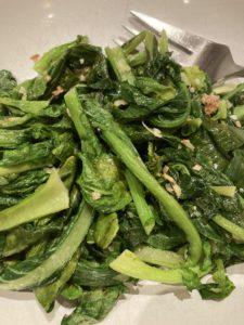 Ginger-Garlic-Sesame Bok Choy