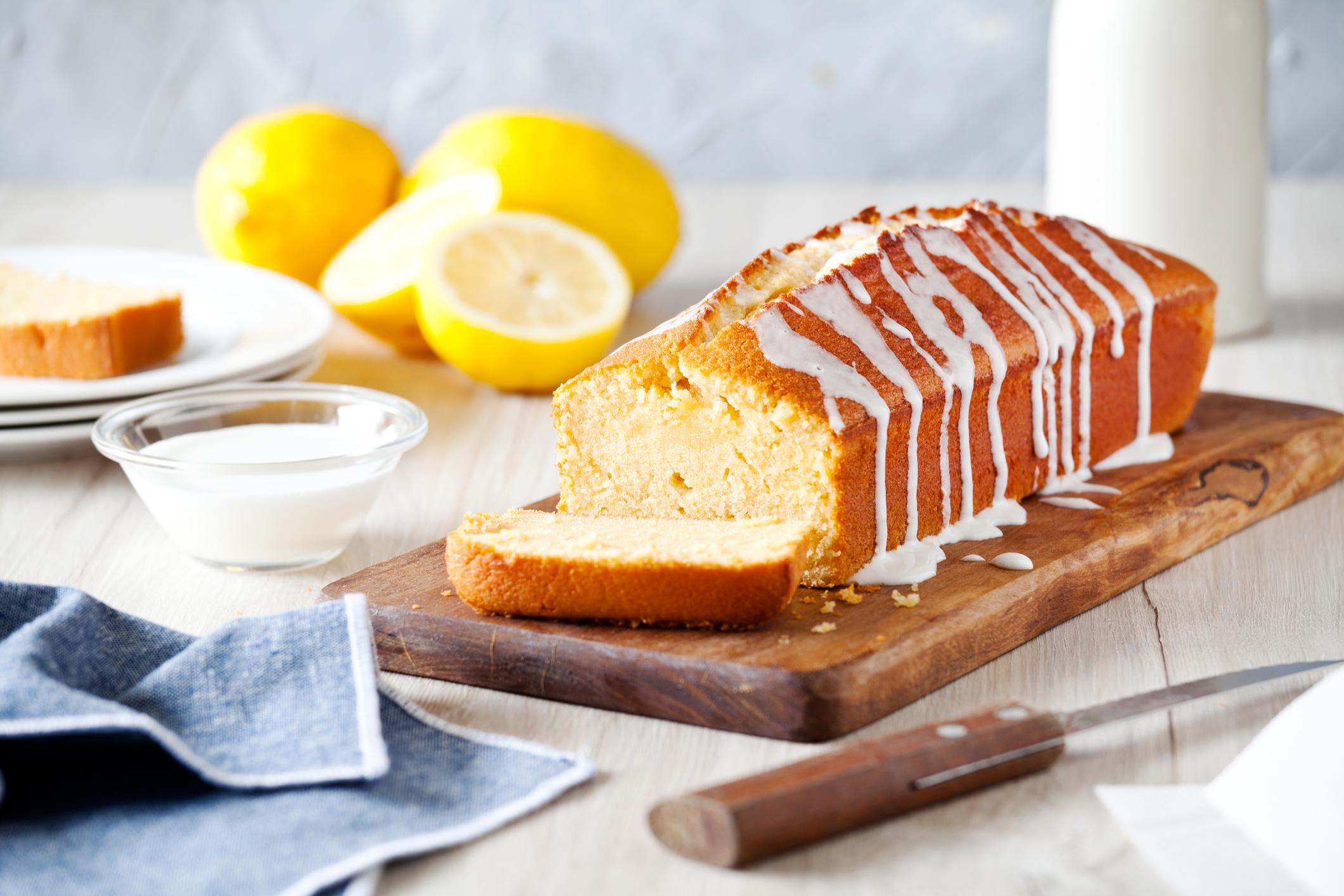 Heavenly Lemon Pound Cake - Jewish Exponent